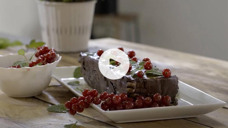 Imagen del pastel de chocolate y galletas alteza